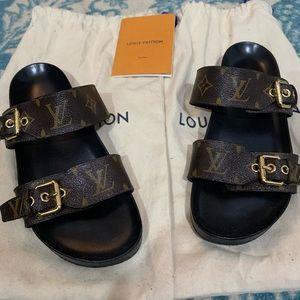 Louis Vuitton Bom Dia Flat Mule